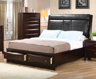 california king size beds by Coaster Furniture