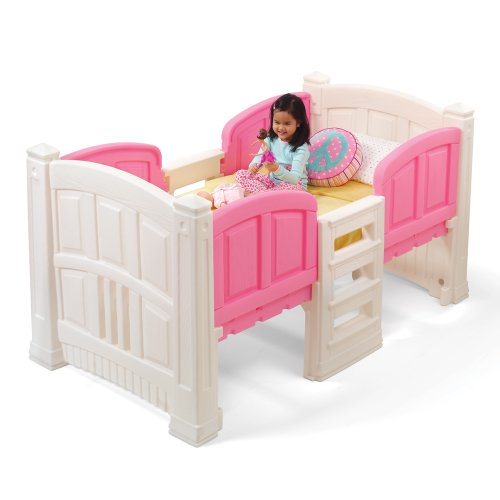 Step2 Girl's Loft and Storage Twin Bed